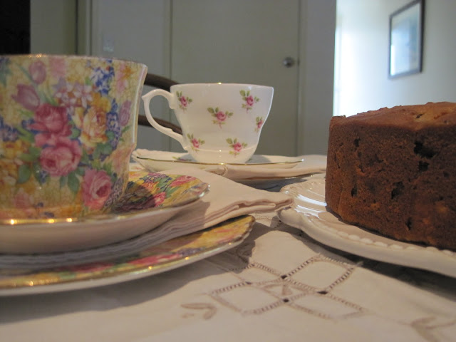 Bill Granger's Apple Fruit Cake, Recipe, Natasha in Oz, Tea party