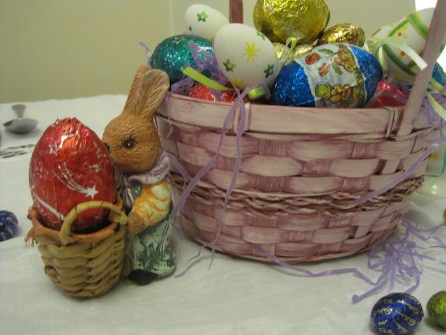Easter Decorating, Madeleine, Easter, Natasha in Oz