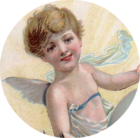 angel image, vintage angel