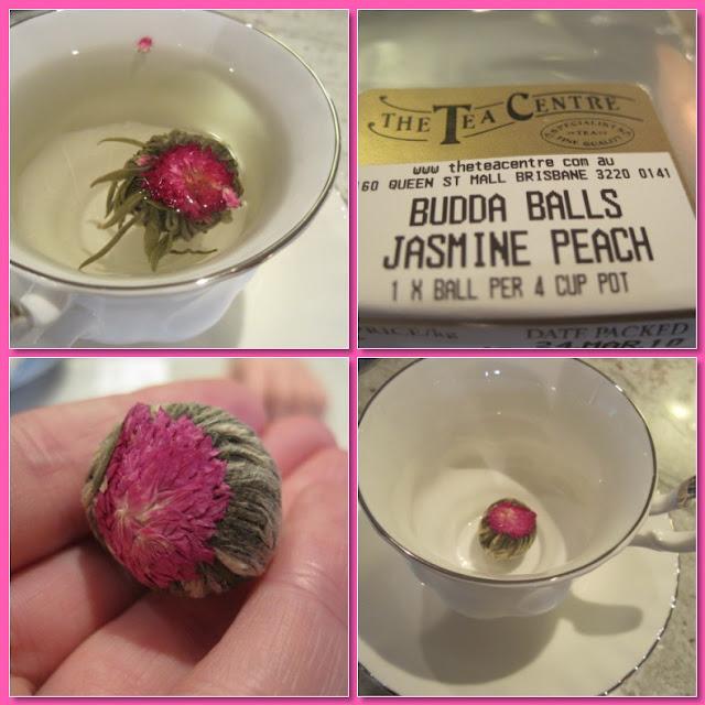 Tea Time with Natasha in Oz: Buddha Ball Jasmine Tea, Tea