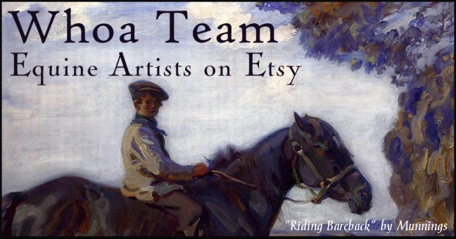 Etsy Whoa Horse Art Team