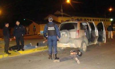 Conocidos delincuentes fueron detenidos en Rio Grande