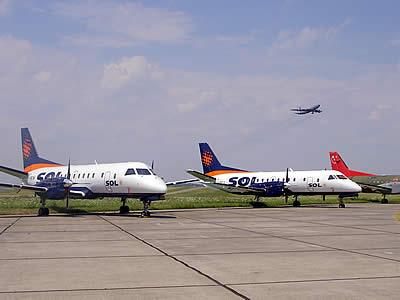 Nueva linea aerea volara a TDF