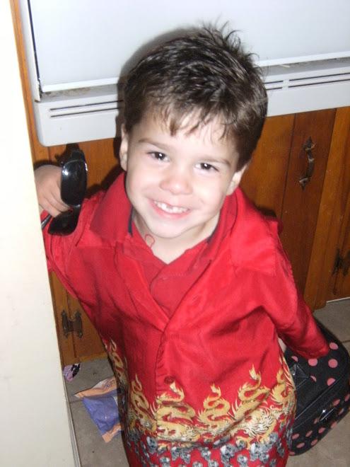 Our Angel Adin, getting so big