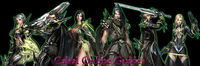 Cabal Online Guides