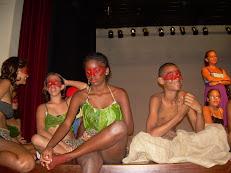Alunos de Teatro e Dança
