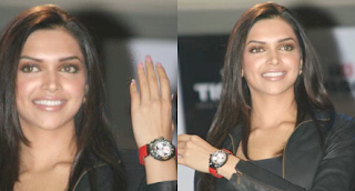 Deepika Padukone endorsing Tissot in India
