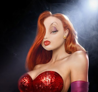 It's Jessica Rabbit, I think
