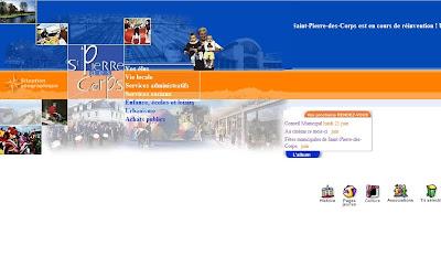 Site Internet de la mairie de Saint-Pierre-des-Corps