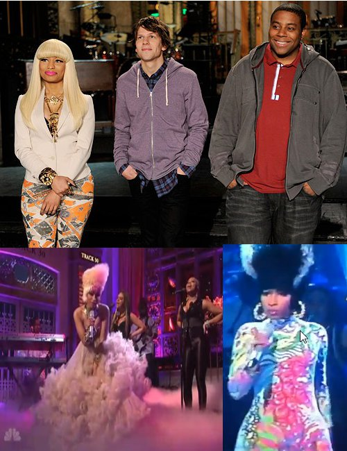 nicki minaj snl performance