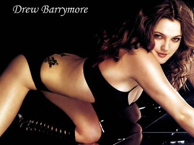 Drew Barrymore Wallpapers5 Drew Berrymore. This one is included for my husband because he kinda has an ...