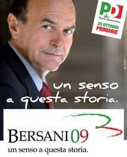 Sostieni Pier Luigi Bersani a segretario nazionale del PD