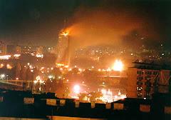 Kosovo en llamas