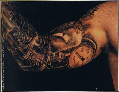 Tattoo L-men: elbow tattoos