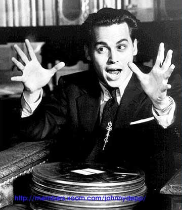Johnny Depp Ed Wood
