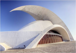 Tenerife Concert Hall(Santa Cruz deTenerife, Canary Islands, Spain)