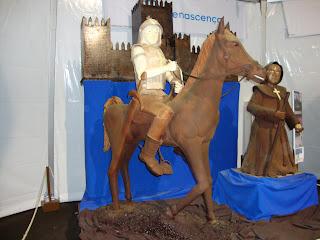 Cavaleiro e frade em Chocolate