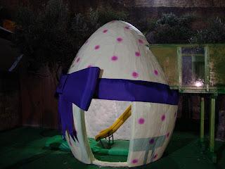 Ovo de Pascoa Laço azul