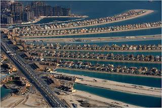 Palm Jumeirah no Dubai, Emiratos Arabes Unidos
