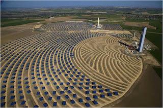 Fotos de paineis solares em Andalucía, Espanha