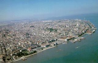 Vista aerea Lisboa