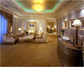 sala de estar da casa do sultao do emiratos arabes unidos