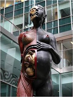 Escultura em Manhattan New York U.S.A.
