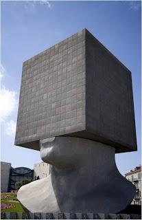 Escultura em Nice França
