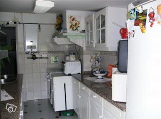 Cozinha - Arrendamento apartamento T2 - Almada
