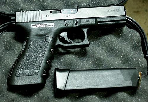 Glock 17 vs desert eagle cal.50