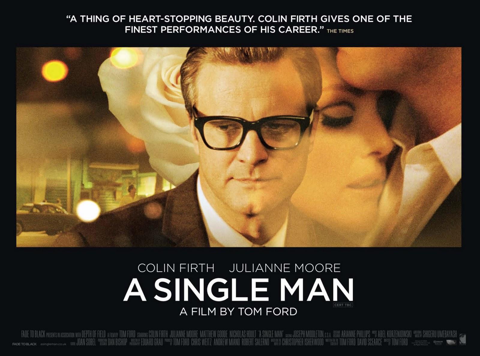 un hombre soltero subtitulada