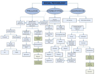 Zoe's Social Psych Blog: Concept Map Draft