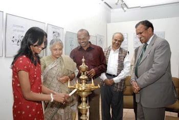 Solo Cartoon Exhibition at AIFACS New Delhi