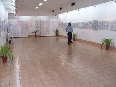 MORE THAN 400 CARTOONS ON DISPLAY