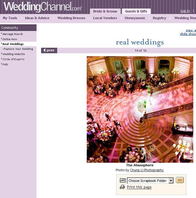 weddingchannel san francisco city hall wedding