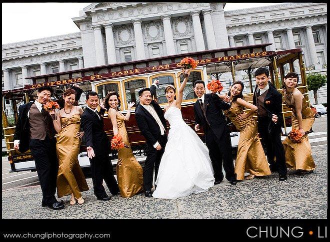 san francisco downtown city hall wedding