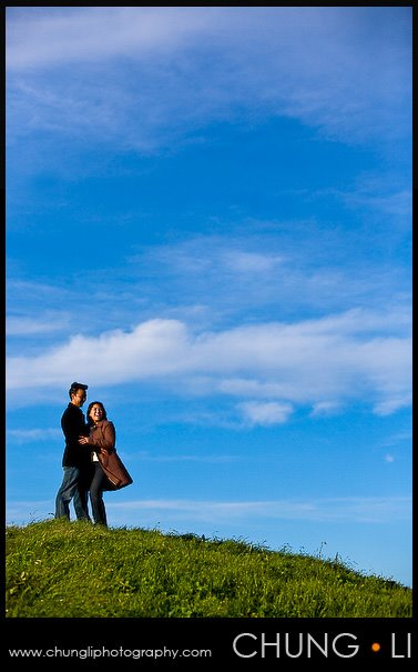 engagement portrait san francisco embarcadero crissy field