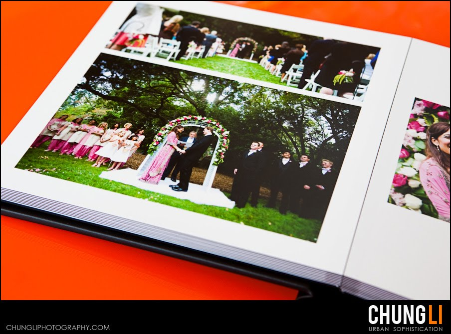 san francisco wedding photographer flush mount wedding album