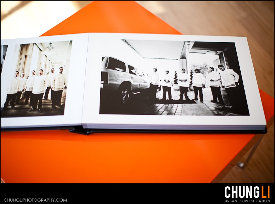san francisco wedding photographer flush mounted album