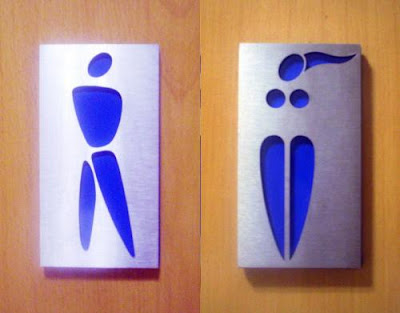 Funny Pictures, Rest Room Signs