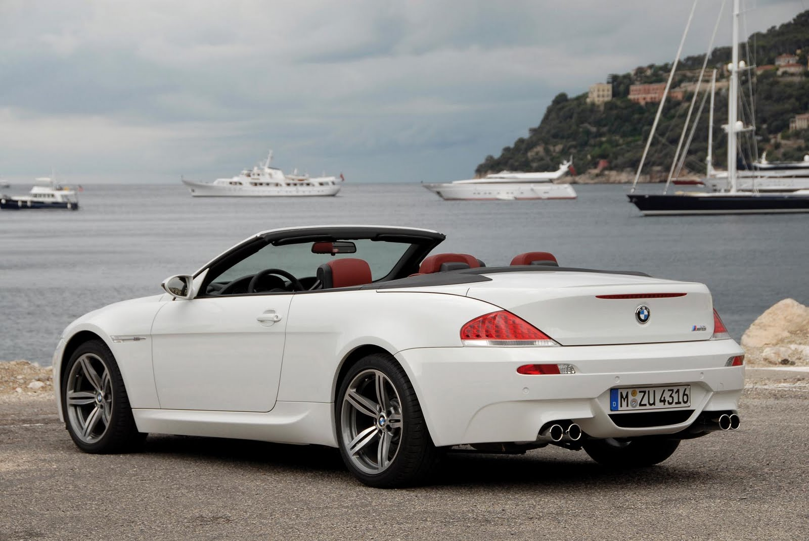 Bmw M6 2012 Wallpapers Bmw M6 White