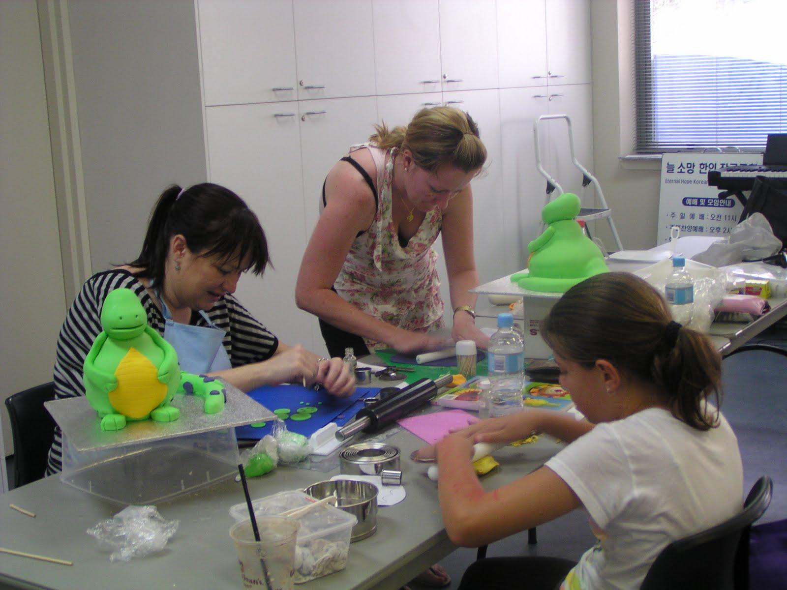 Basic Cake Decorating Class In Sydney
