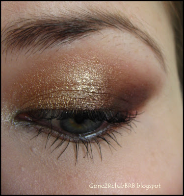 bronze make-up look