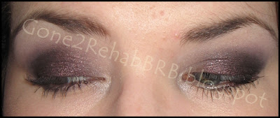 deep purple smokey eyes with sweetscents midnight burgundy