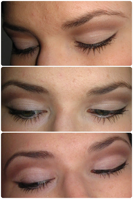 cruetly free make-up look using alverde rose garden eyshadow and sweetscent midnight burgundy mineral  eyeshadow