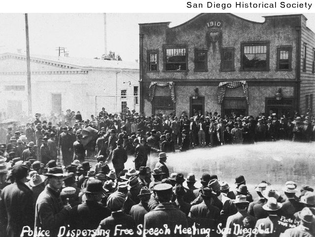 [police+dispersing+free+speech+crowd+with+a+firehose+San+Diego++circa+1912.htm]