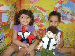 Thayná e Guga,,,meus irmãos