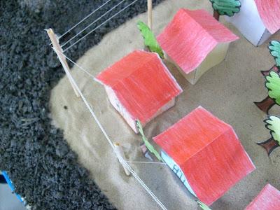 Final Da Postagem Os Moldes Das Casinhas E Das   Rvores Para Imprimir