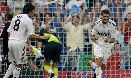On 29 August 2009, Real Madrid
