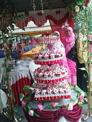 Cake n Cupcake 3tier